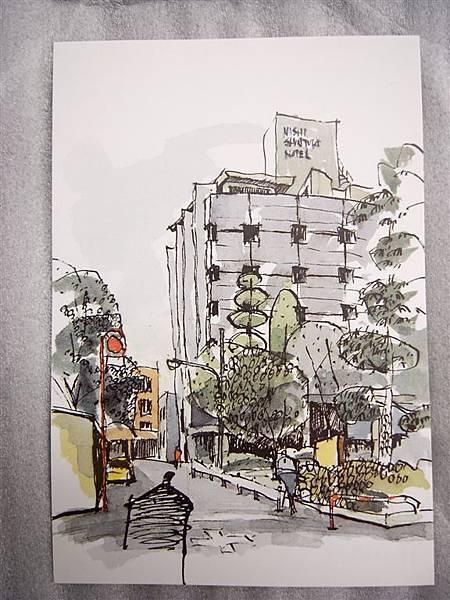 西新宿的明信片