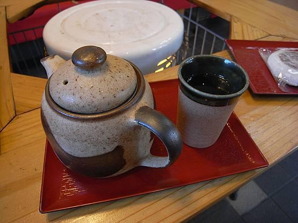 我點了日本的綠茶(抹茶)