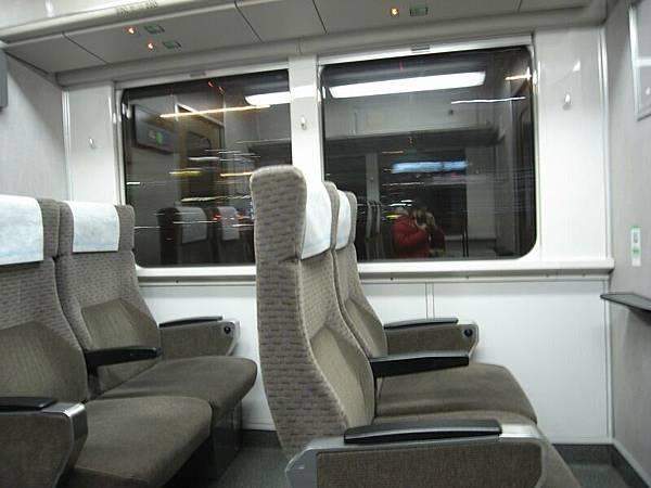 坐到地鐵的頭等艙