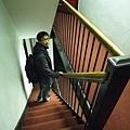 這是我們apartment的樓梯