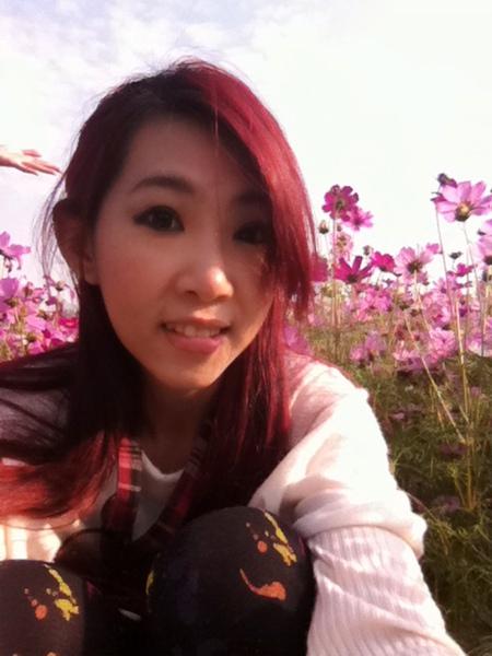 但其實我很討厭粉紅色的花