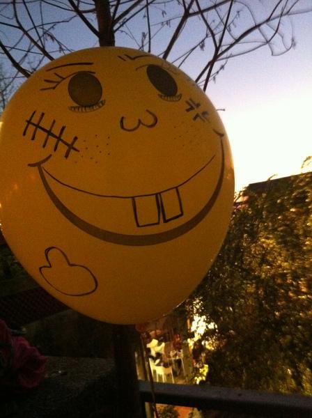 我的氣球~你變壞惹