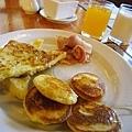 早餐是老娘最愛的法蘭西多士!