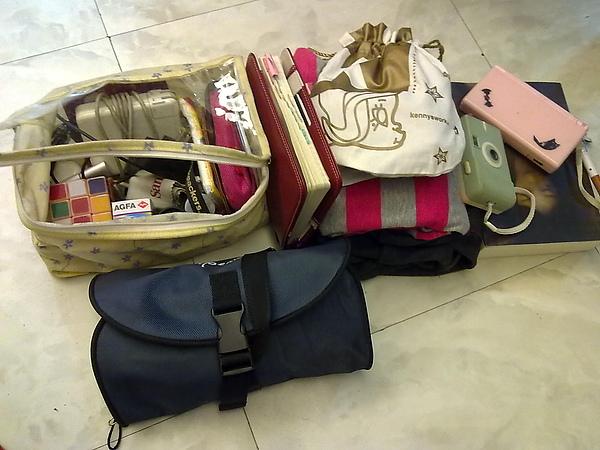 帶去的行李
