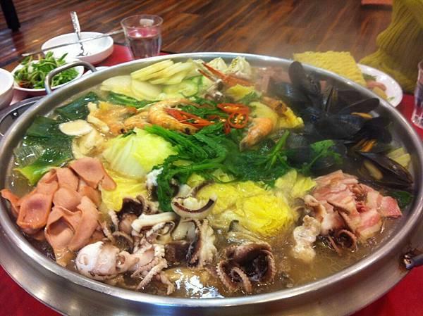 我愛的海鮮鍋