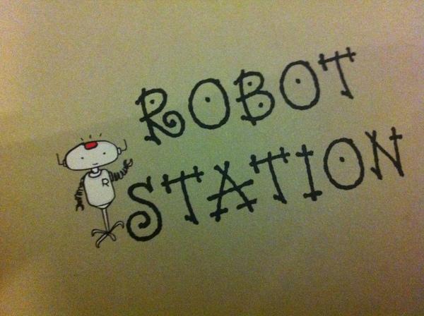 機器人咖啡餐廳