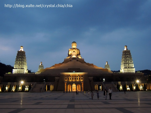 佛陀紀念館夜色 (1)