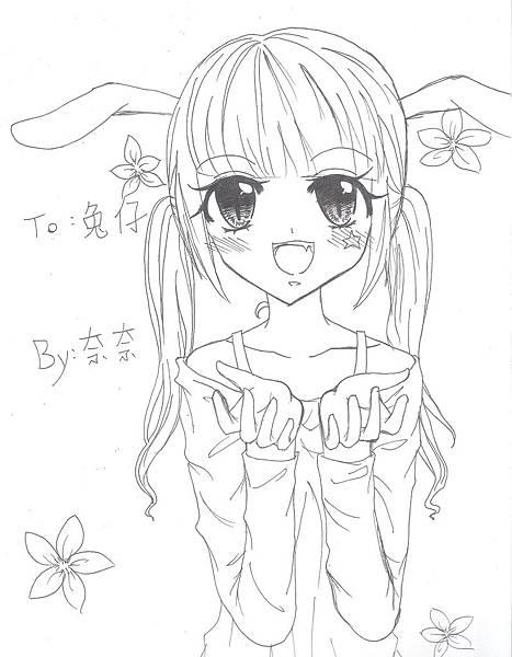 兔仔姊姊20000賀圖