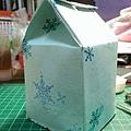 自製牛奶盒包裝-側面