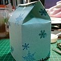 自製牛奶盒包裝-側面2