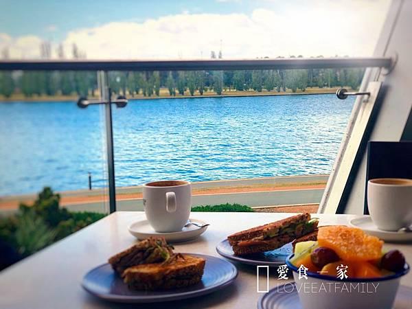 坎培拉 國家博物館 下午茶Lake Burley Griffin