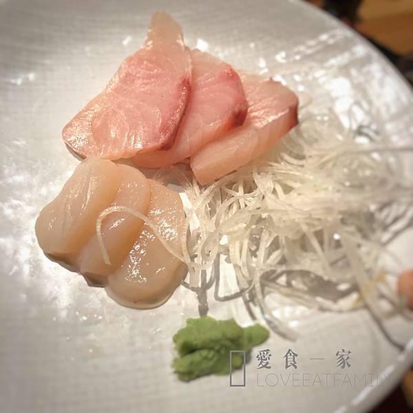 生食等級干貝 日式燒肉吃到飽