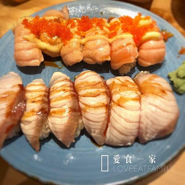 炙燒鮭魚握壽司 日式餐廳推薦