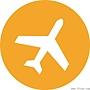 the-orange-airplane-icon-5542