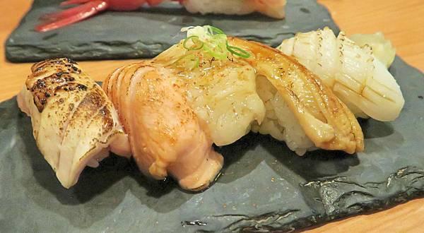 台中公益路平價桀壽司綜合握壽司2