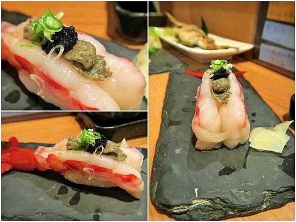 桀壽司胭脂蝦