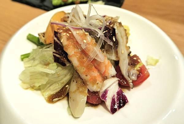 海鮮和風沙拉