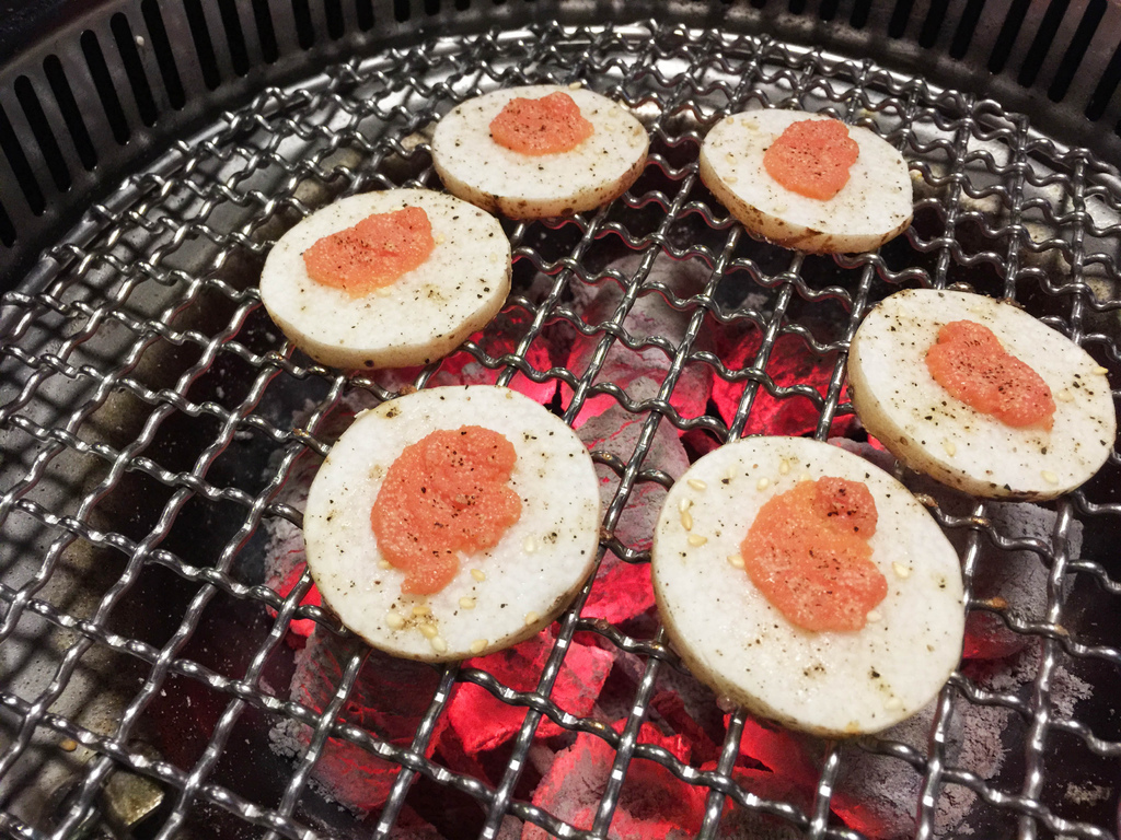 台中岩手燒烤-山藥明太子5.jpg