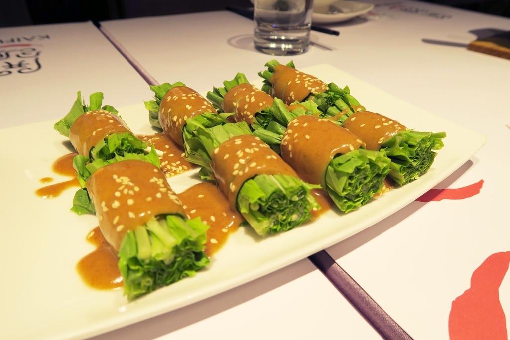 開飯川食堂-麻醬油麥菜
