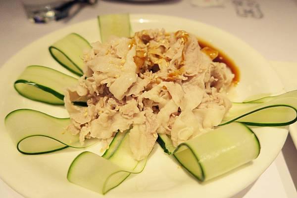 開飯川食堂-豬肉薄片