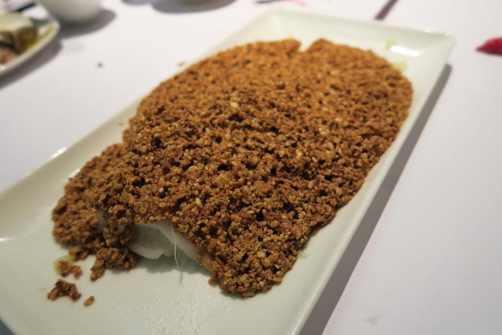 開飯川食堂-豆酥鱈魚