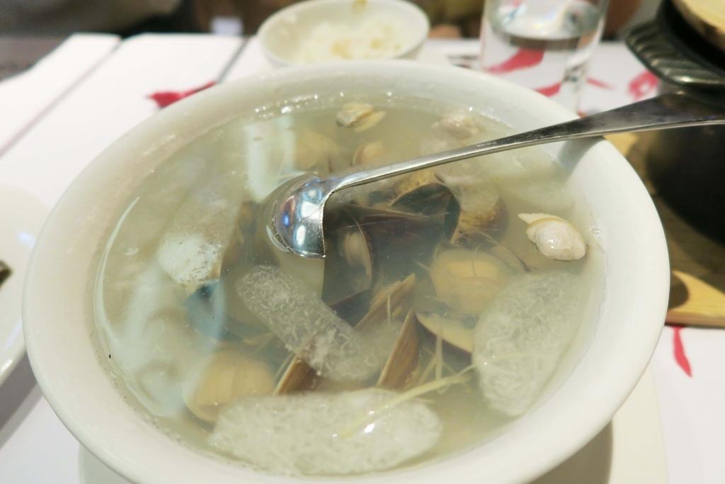 開飯川食堂-蛤蠣冬瓜湯
