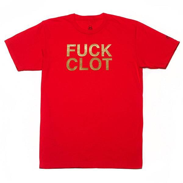 fuck clot red