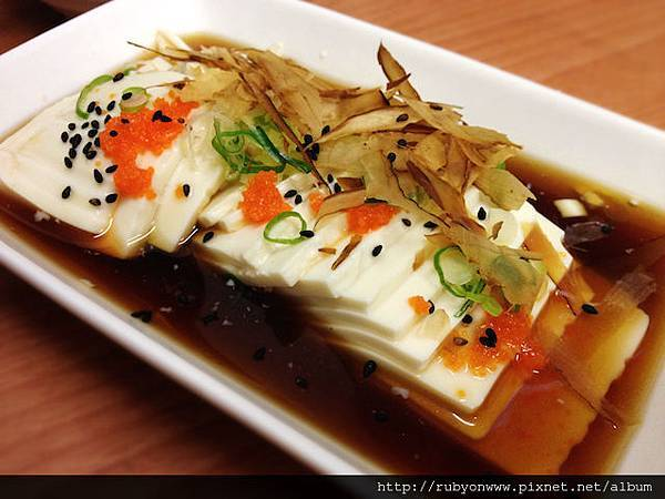 柴魚冷豆腐30