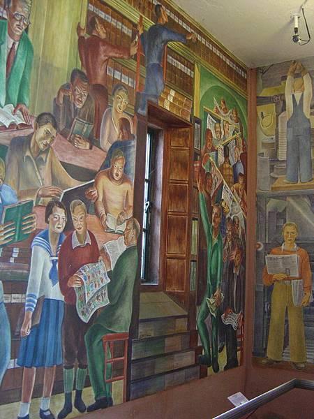 塔內的壁畫
