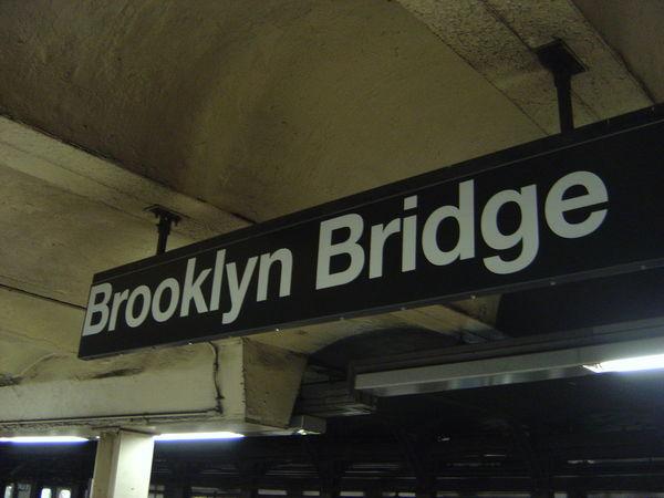 布魯克林大橋站