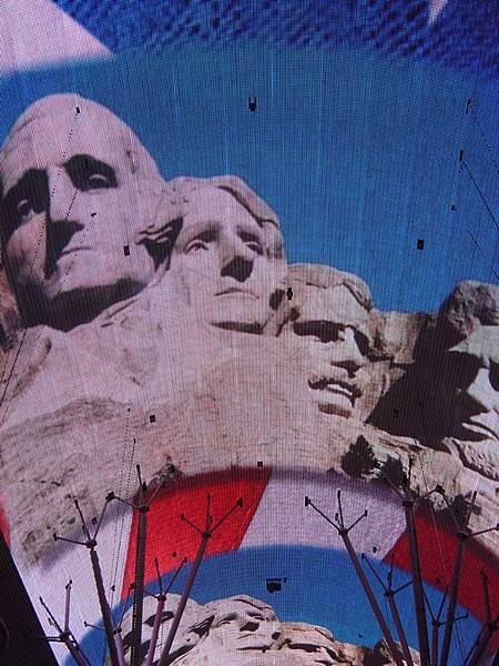 美國那四個總統像耶