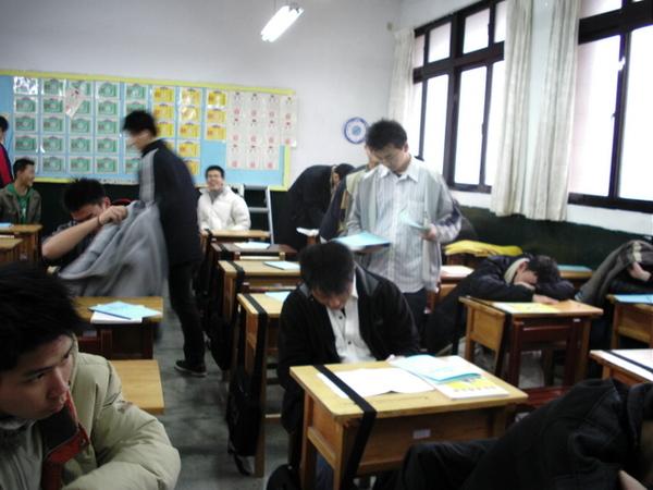 難道老師是隱形人