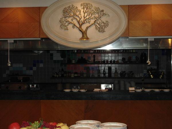 地下飯廳的廚房