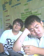 阿南睡著了