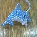 雅婷的海豚吊飾