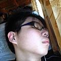 鮑魚睡著了