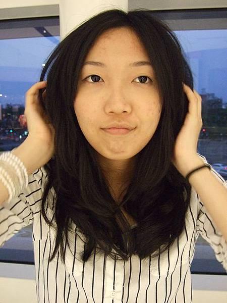 回台灣剪的新髮型