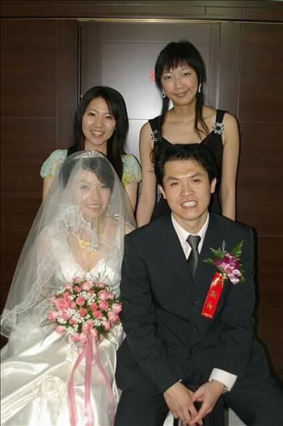 小美結婚啦!