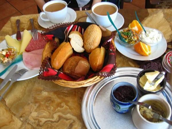 豐盛的德式早餐