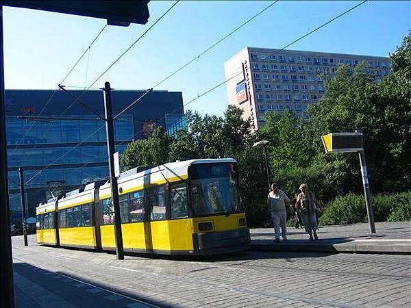 柏林的輕軌電車