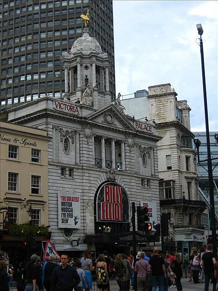 晚上去看Billy Elliot舞動人生