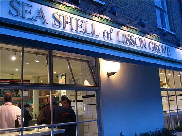 倫敦最有名的Fish&Chips店