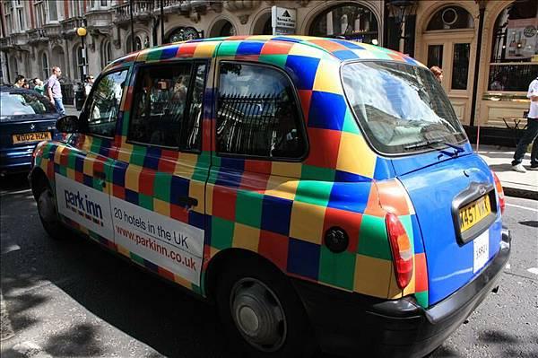 很可愛的Cab(Taxi)