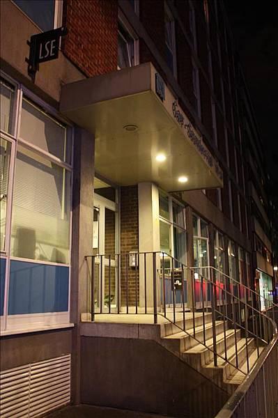 今晚的住宿LSE宿舍