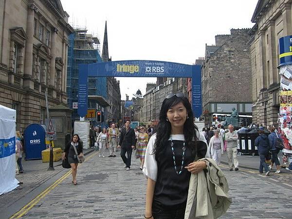 愛丁堡藝術節人潮洶湧