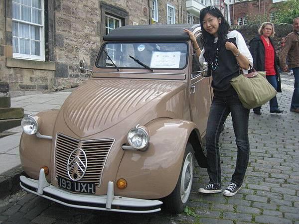 古董車+美人 (我自以為)