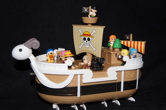 《ONE PIECE 海賊王(航海王)》黃金梅利號組合組_1