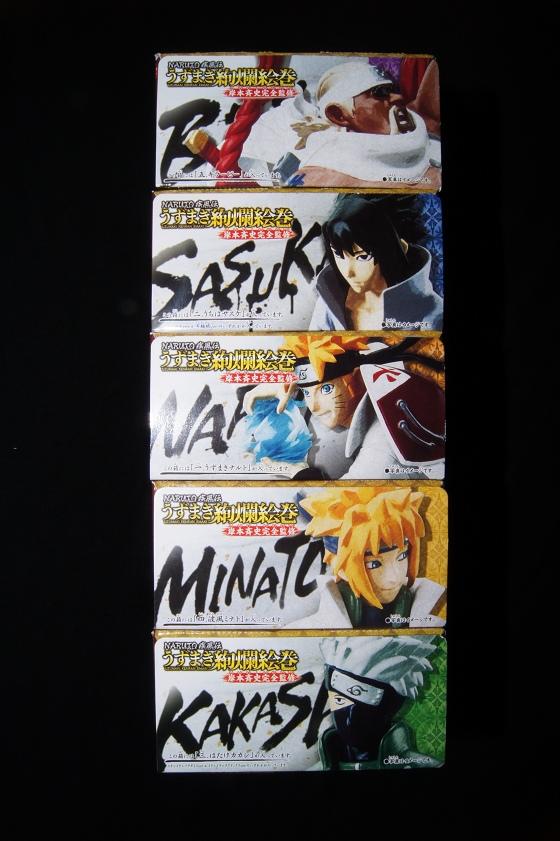 《火影忍者疾風傳(NARUTO -ナルト- 疾風伝)》「漩渦絢爛篇」盒玩01
