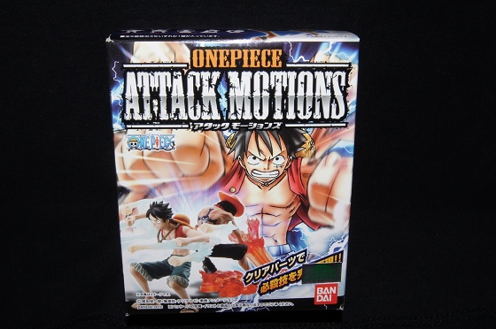 《ONE PIECE 海賊王(航海王)》「ATTACK MOTIONS」盒玩!1