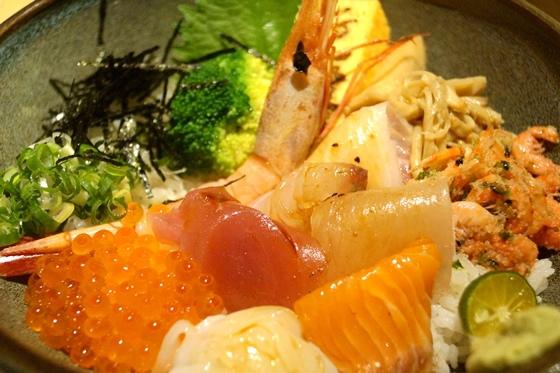 [台南-東區] 毛丼-盛和海鮮丼.蛤蠣赤味噌湯01